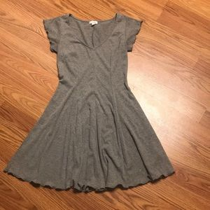 Gray minidress